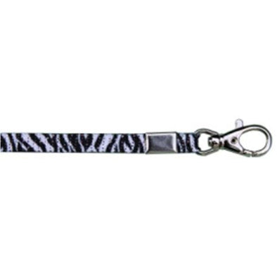 "Lanyard Glitter 3/8"" - Zebra (12 Pack) Shoelaces from Shoelaces Express"