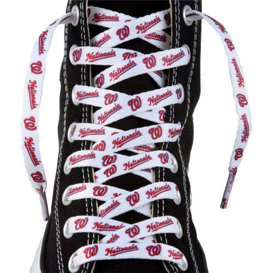 MLB LaceUps - Washington Nationals (1 Pair Pack) Shoelaces from Shoelaces Express