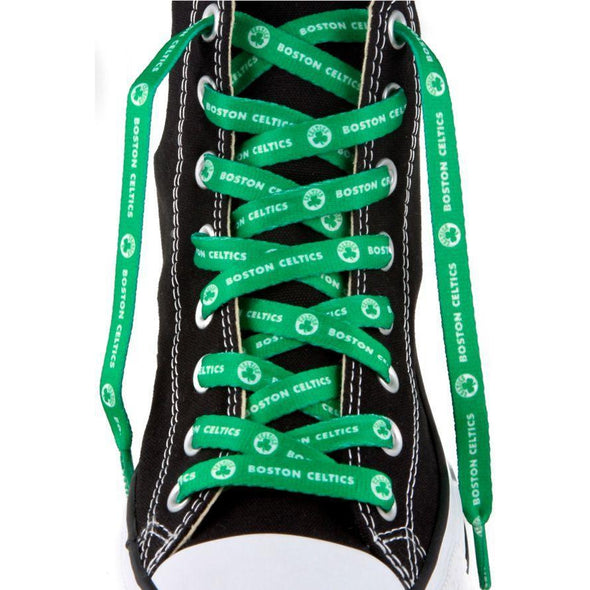 NBA LaceUps - Boston Celtics (1 Pair Pack) Shoelaces from Shoelaces Express