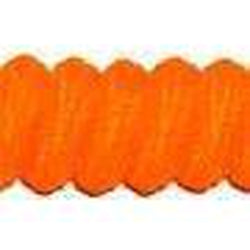 Curly Laces Neon Orange 6""