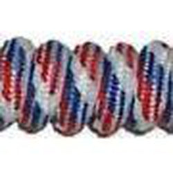 Curly Laces - Red White & Blue (1 Pair Pack) Shoelaces from Shoelaces Express