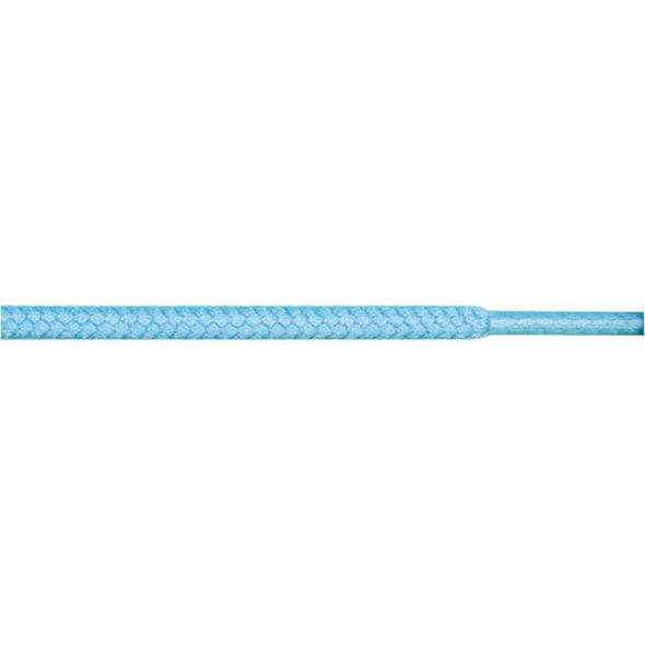 "Round 3/16"" - Light Blue (12 Pair Pack) Shoelaces from Shoelaces Express"