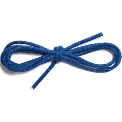 "Waxed Cotton Dress Round 1/8"" - Navy (12 Pair Pack) Shoelaces from Shoelaces Express"