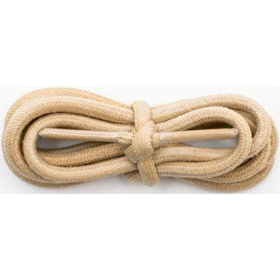 "Spool - 3/16"" Waxed Cotton Round - Beige (144 yards) Shoelaces from Shoelaces Express"