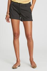 Hampton Midrise Cuffed Short in Black