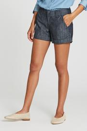 Hampton Midrise Cuffed Short in Zodiac