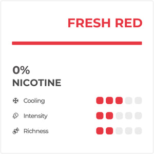 Fresh Red (ZERO NICOTINE)