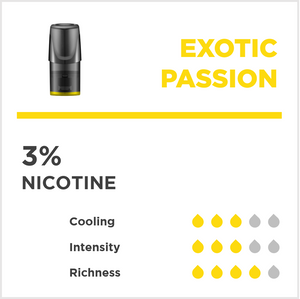 Exotic Passion (Pack of 3)