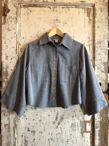 Cousin Earl Jacket with Flare Sleeves