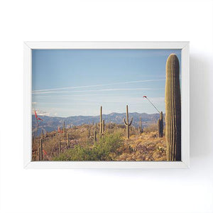 Desert Heart Mini Framed Print