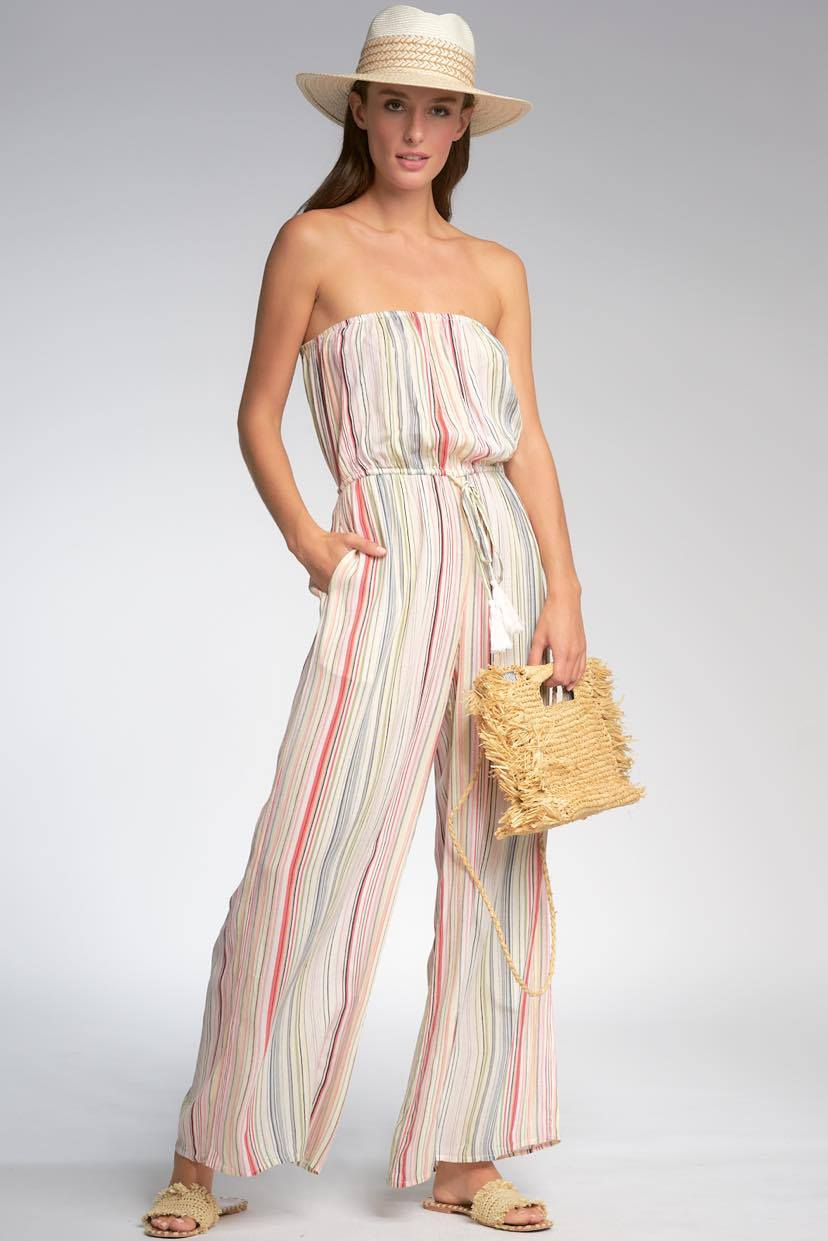 Multi- Stripe Romper