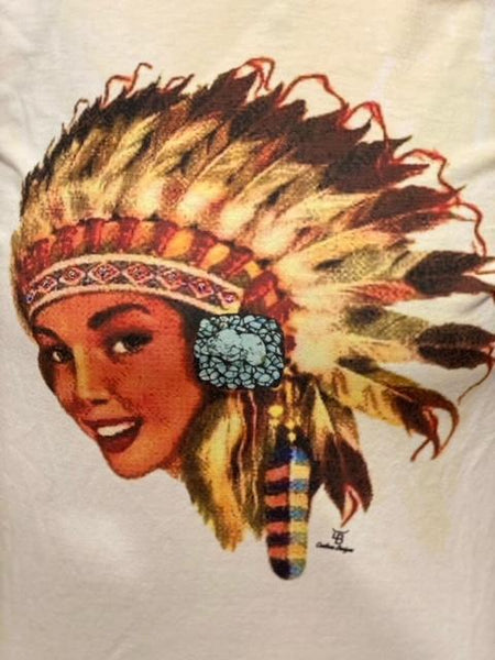 Indian Princess Tee with Bling