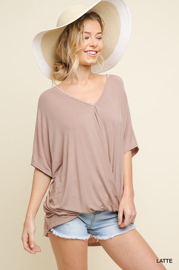 Latte Relaxed Fit Top