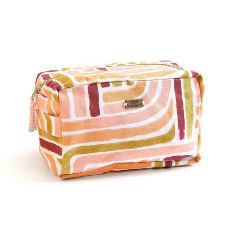 Sunset Stripe Box Tote