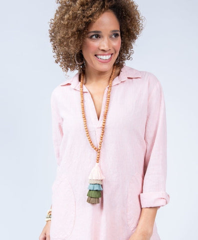 Uncle Frank Long Sleeve Pullover Tunic