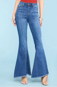 JUDY BLUE SUPER FLARE JEANS