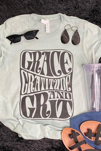 Grace, Gratitude, and Grit Tee
