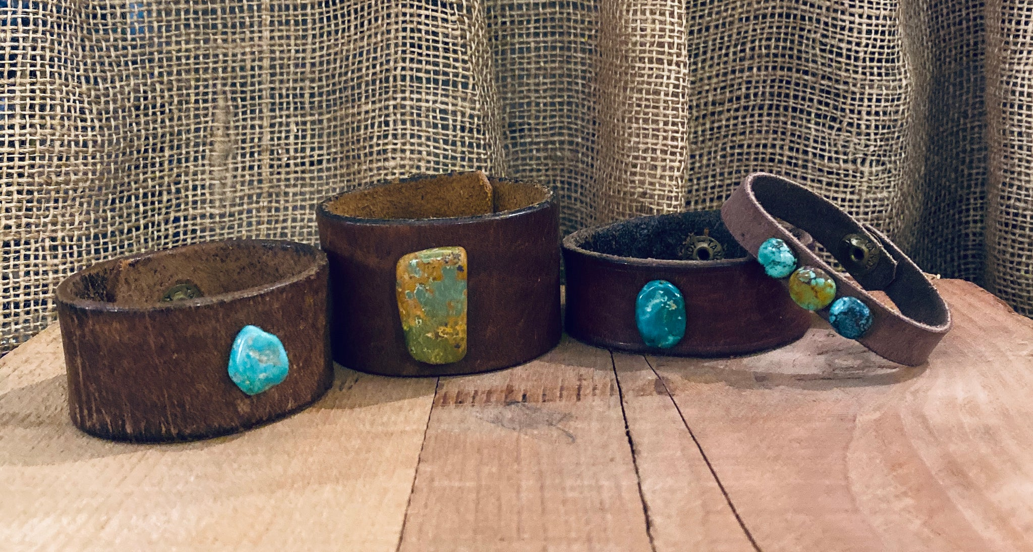 New Mexico Leather Braclet