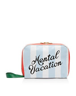 Mental Vacation toiletry bag