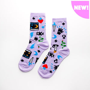 Women's Socks - Mystic Spells
