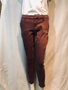 Sangria Slim Straight Trouser