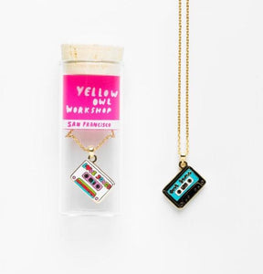 Cool Jams/Love Songs Double Sided Necklace