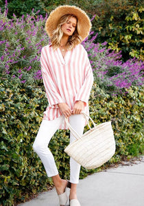 Striped Collared Tunic