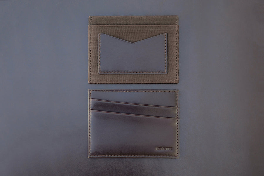 ACE WALLET, MAHOGANY