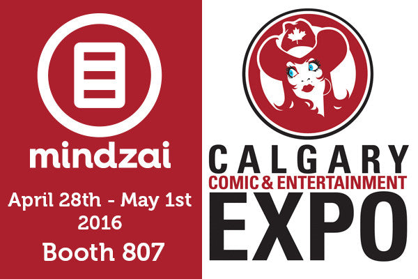 Mindzai at Calgary Expo 2016