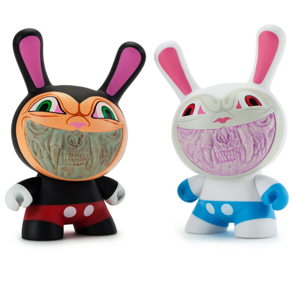 Ron English Apocalypse Grin Dunny by Kidrobot