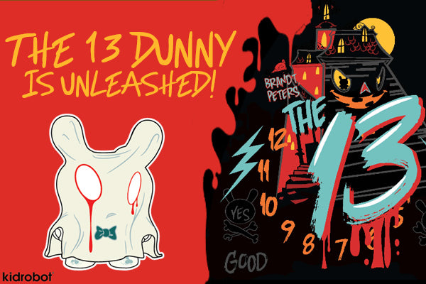 The 13 Dunny by Kidrobot Launches at Mindzai
