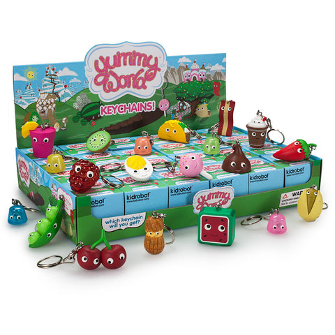 Yummy World Wave 3 Blind Box Keychains by Kidrobot