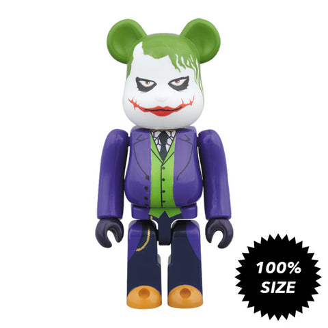 Joker The Dark Knight 100% Bearbrick