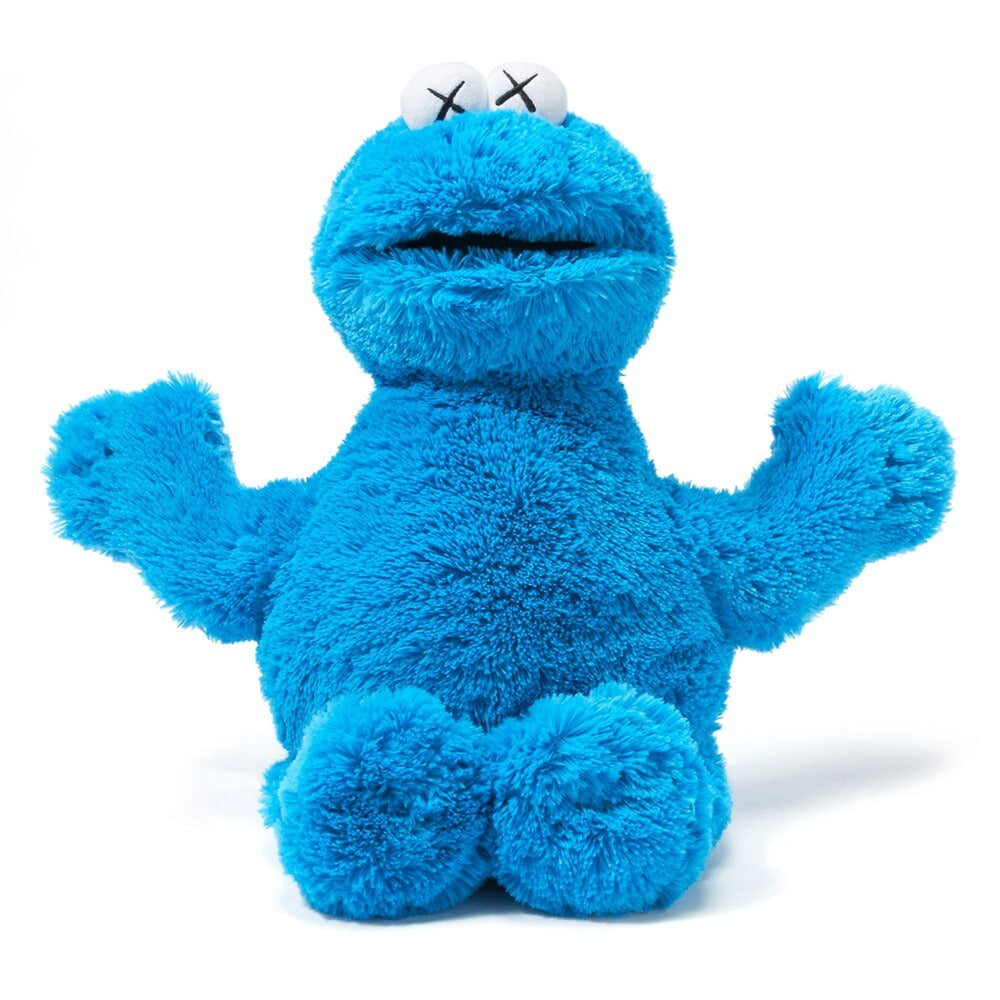 Cookie Monster Kaws x Sesame Street x Uniqlo Plush Toy