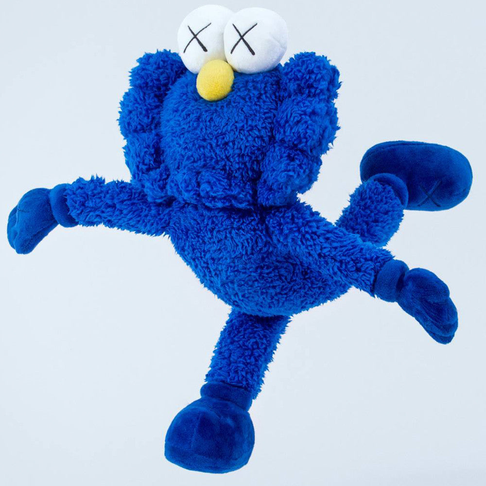 Kaws BFF Companion Blue Plush Limited Edition