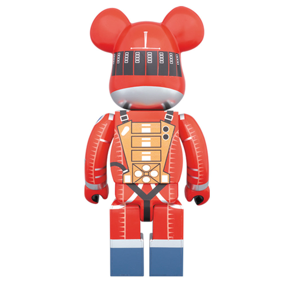 2001: A Space Odyssey Orange Spacesuit 1000% Bearbrick - Pre-order - Mindzai  - 1