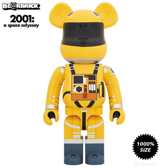 2001: A Space Odyssey Yellow Spacesuit Bearbricks