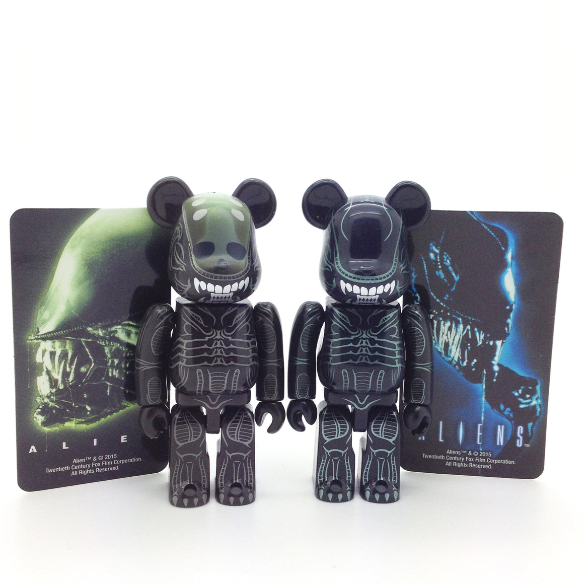 Bearbrick Series 31 - Alien and Alien Warrior (Set of 2) - Mindzai  - 1