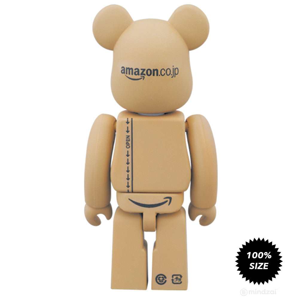 Amazon Japan Box Limited Edition 100% Bearbrick by Medicom Toy