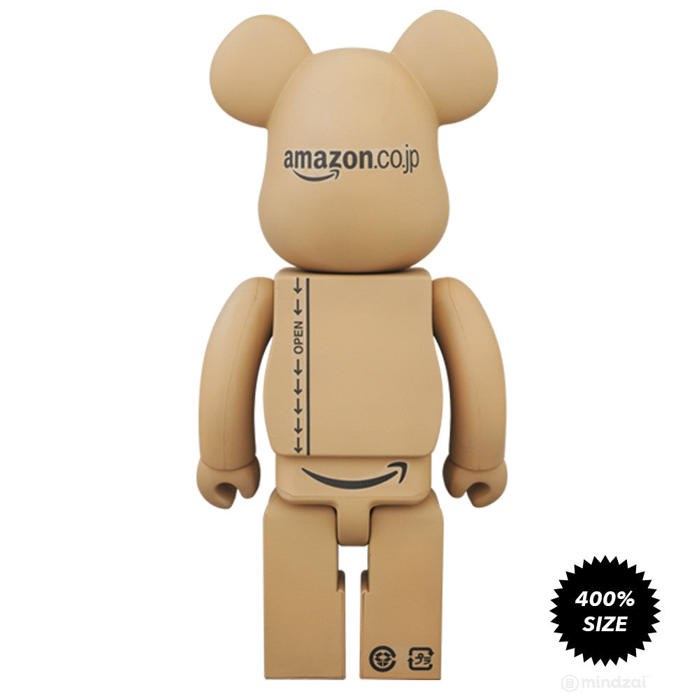 Amazon Japan Box Limited Edition 400% Bearbrick by Medicom Toy