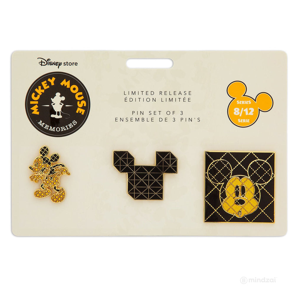 Mickey Mouse Memories Pin Set - August (Limited Edition)