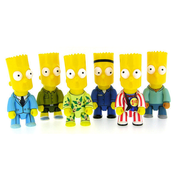 Bart Simpson Qee Series 2 Single Blindbox - Mindzai  - 1