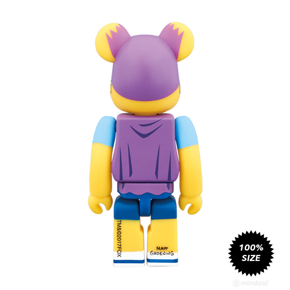 Bartman 100% Bearbrick by Medicom Toy x The Simpsons - Pre-order