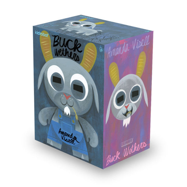 "Buck Wethers 8"" Dunny by Amanda Visell x Kidrobot - Special Order - Mindzai  - 1"