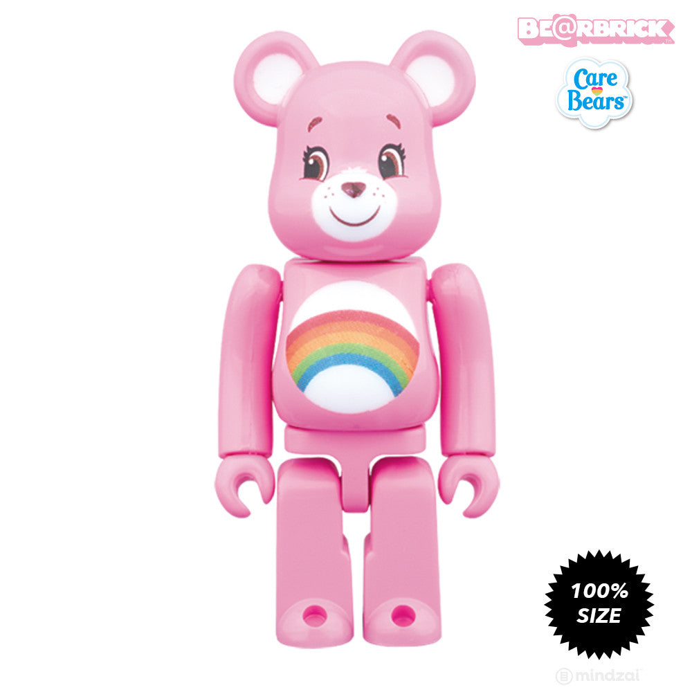 Cheer Bear Care Bears 100% Bearbrick - Pre-order - Mindzai