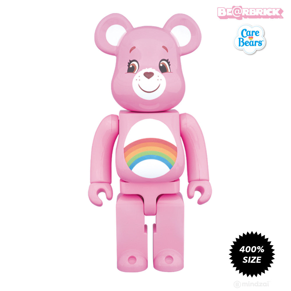 Cheer Bear Care Bears 400% Bearbrick - Pre-order - Mindzai