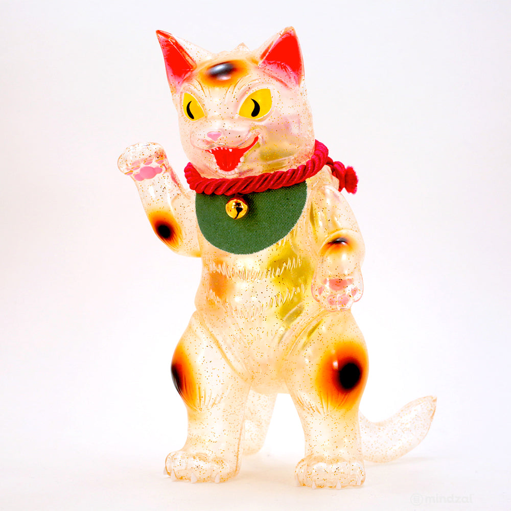 Negora Lucky Cat 8-Inch Clear Edition by Konatsuya
