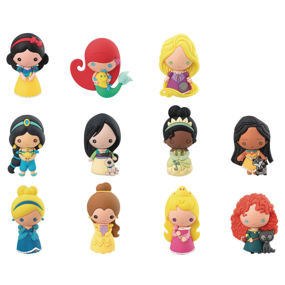 Disney Princess Series 9 Figural Keychain Blind Bag