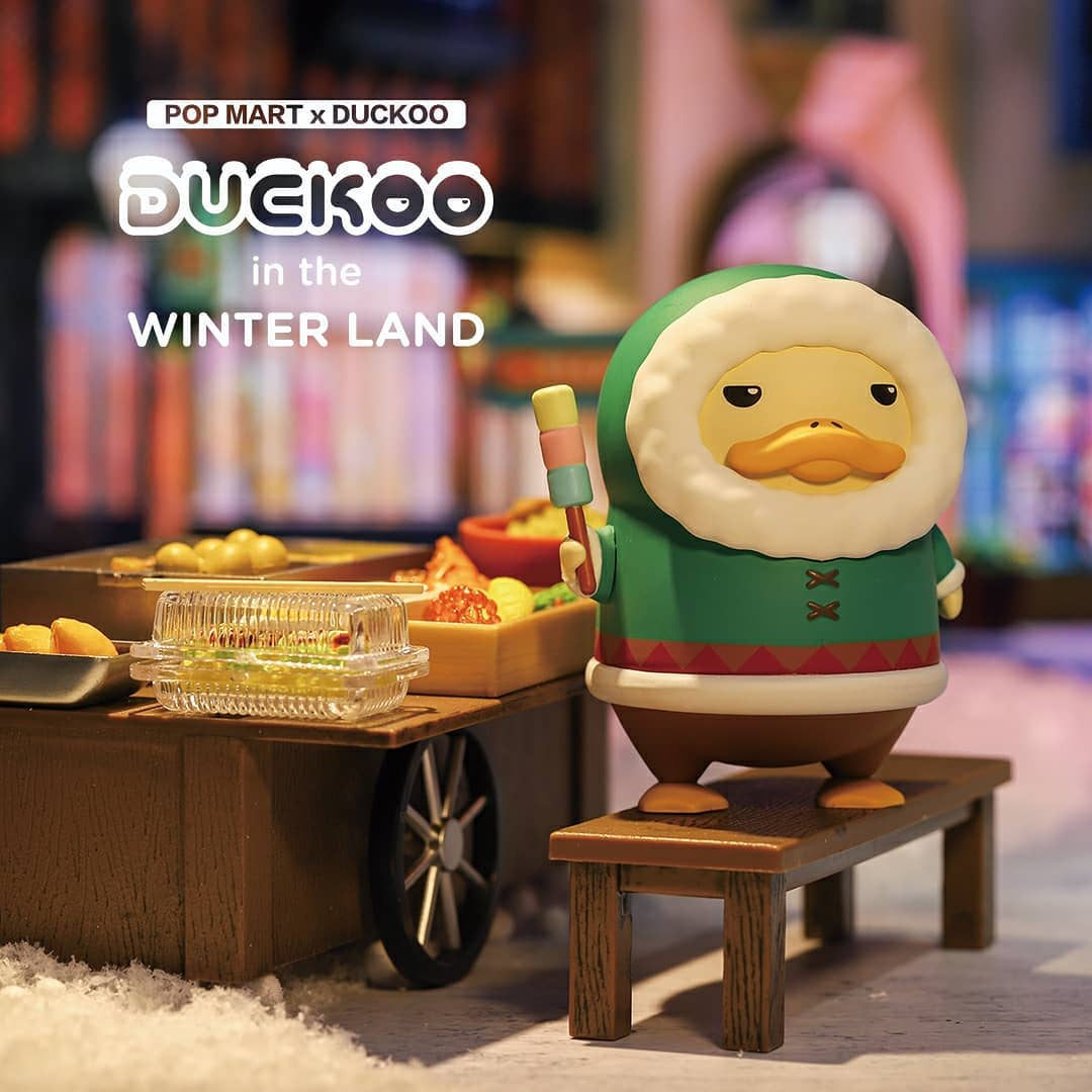 Duckoo In The Winterland Blind Box Series by Chokocider x POP MART