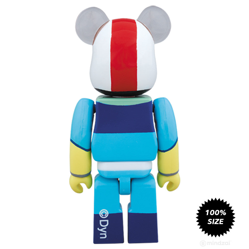 Getter 1 Nagareryoma 100% Bearbrick by Medicom Toy